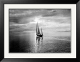 Diamond Head in Swiftsure Race Print by Ray Krantz