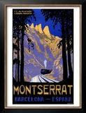 Montserrat Barcelona Spain Prints