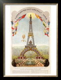 Universal Exposition Fair, Paris, c.1889 Prints