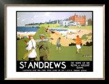 LNER, St. Andrews, c.1920 Print by Henry George Gawthorn