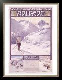 Arlberg Alpine Snow Ski Posters