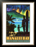 Hanalei Bay North Shore Kauai Prints by Rick Sharp