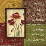 Spice 4 Patch: Where There is Hope Posters by Debbie DeWitt