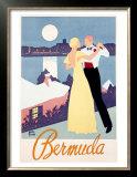 Bermuda Poster by Adolph Treidler