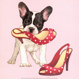 In Her Shoes Prints by Maryline Cazenave