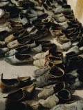 A Bundle of Old Shoes Photographic Print by Thomas J. Abercrombie