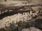 Cliff Palace Once Sheltered Hundreds of Anasazi Indians Photographic Print by Willard Culver