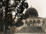 Period View of the Dome of the Rock Photographic Print by Maynard Owen Williams