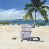 Beach Chair Art by Laurie Chase