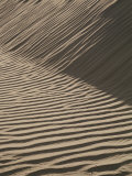 Wind-Rippled Sand Dunes Photographic Print by Marc Moritsch