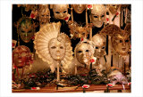 Venitian Masks, Venice Prints by Igor Maloratsky