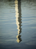 The Washington Monument Reflected in the Wind-Rippled Surface of the Tidal Basin Photographic Print by Stephen St. John
