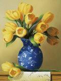 Yellow Tulips Posters av Ian Porter