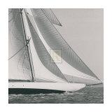 Classic Yacht I Art by Ingrid Abery