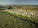 Hadrians Wall Looking East Photographic Print by Bill Curtsinger