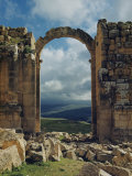 Triumphal Arch of Jerash Photographic Print by Maynard Owen Williams