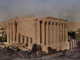 Bacchus Temple at Baalbek Photographic Print by W. Robert Moore