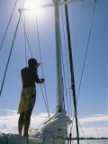 Sailing in Polynesia Photographic Print by Kate Thompson