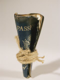 An Old Passport is Bound in Twine Photographic Print by Mark Thiessen