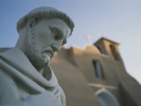 View of a Statue at the 18th-Century San Francisco De Asis Mission Photographic Print by Stacy Gold