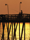 Fishing Pier at Rodanthe, North Carolina Photographic Print by Steve Winter