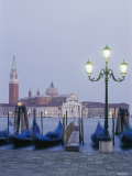 A View of the San Giorgio Maggiore Church on the Canale Di San Marco Photographic Print by Richard Nowitz