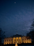 A Night View of the White House Photographic Print by Joel Sartore