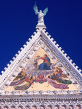 Decorative Steeple of Church, Siena, Italy Photographic Print by Dr. Luis De La Maza