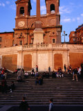 Spanish Steps, Popular Meeting Place Rome, Italy Photographic Print by Glenn Beanland