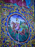 Tile Detail in Eram Park in Shiraz, Shiraz, Fars, Iran Photographic Print by Phil Weymouth