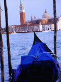 Looking Out from San Marco Over Gondola, Venice, Italy Photographic Print by Glenn Beanland