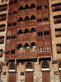 Shorbatly House, Traditional Local Architecture, Jiddah, Makkah, Saudi Arabia Photographic Print by Tony Wheeler
