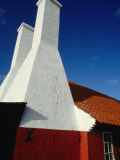 Chimney of Herring Smoke House, Denmark Photographic Print by Wayne Walton