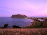Circular Head and Town from Green Hills Road Stanley, Tasmania, Australia Photographic Print by Barnett Ross