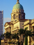 Supreme Court Building, Former Symbol of British Law in Colonial Era, Singapore Photographic Print by Richard I'Anson