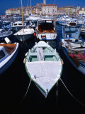 Fishing Boats in Harbour, Rovinj, Croatia Photographic Print by Damien Simonis
