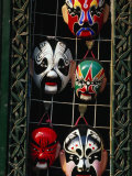 Traditional Masks for Sale in Liulichang Xijie Bejing, China Photographic Print by Phil Weymouth