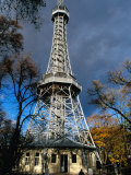 Petrin Tower of Prague, Prague, Czech Republic Photographic Print by Richard Nebesky