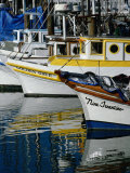 Fishing Boats at Fishermans Wharf, San Francisco, California, USA Photographic Print by Roberto Gerometta