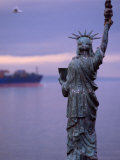 The Statue of Liberty, Given to Seattle by the Boy Scouts of America, Seattle, Washington, USA Photographic Print by Lawrence Worcester