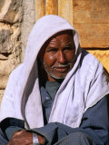 Bedouin Man at Village of Matar in Wadi Shagg, Sinai, Egypt Photographic Print by Mark Daffey