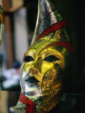 Carnival Mask, Venice, Veneto, Italy Photographic Print by Roberto Gerometta