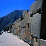 Part of the Temple at Ollantaytambo, Cuzco, Peru Photographic Print by Wes Walker
