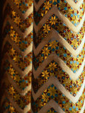Tiled Pillar in Monreale Cathedral, Monreale, Italy Photographic Print by Bethune Carmichael