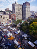 Farmers' Market on Union Square, New York City, New York, USA Photographic Print by Angus Oborn