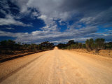 Unsealed Outback Road, Mungo National Park, New South Wales, Australia Photographic Print by Richard I'Anson