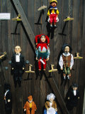 Marionettes, Puppets, Hanging on Wall at Hradcany, Prague, Czech Republic Photographic Print by Richard Nebesky