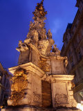 Plague Column at Graben, Innere Stadt, Vienna, Austria Photographic Print by Richard Nebesky