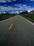 Road in Waterton Lakes National Park, Rocky Mountains, Waterton Lakes National Park, Canada Photographic Print by Rick Rudnicki