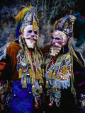 Festival Participants Dressed as Spanish Conquistadors, Chichicastenango, Guatemala Photographic Print by Richard I&#39;Anson